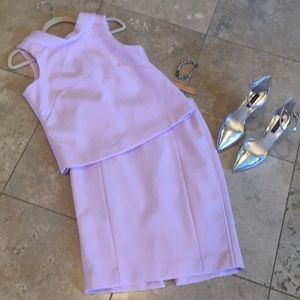 Gorgeous pink top and skirt